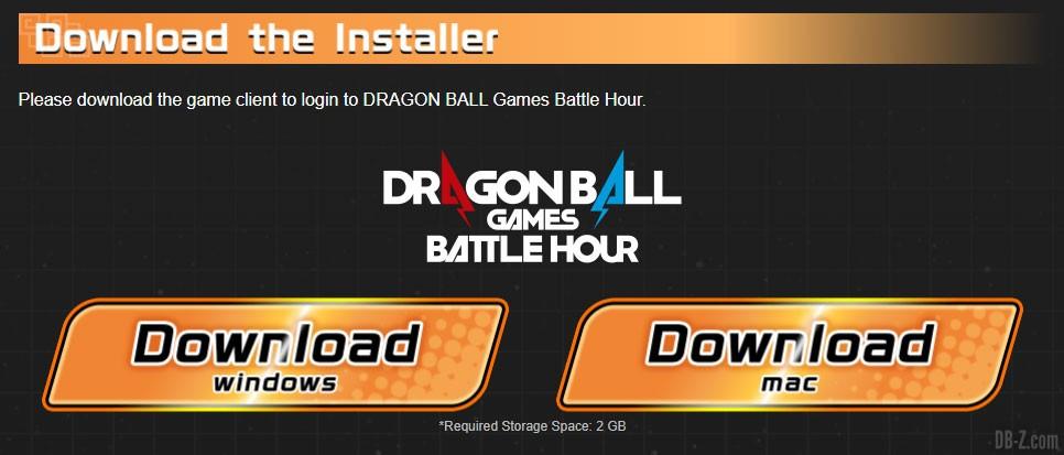 Download-Online-Arena-Dragonball-Games-Battle-Hour