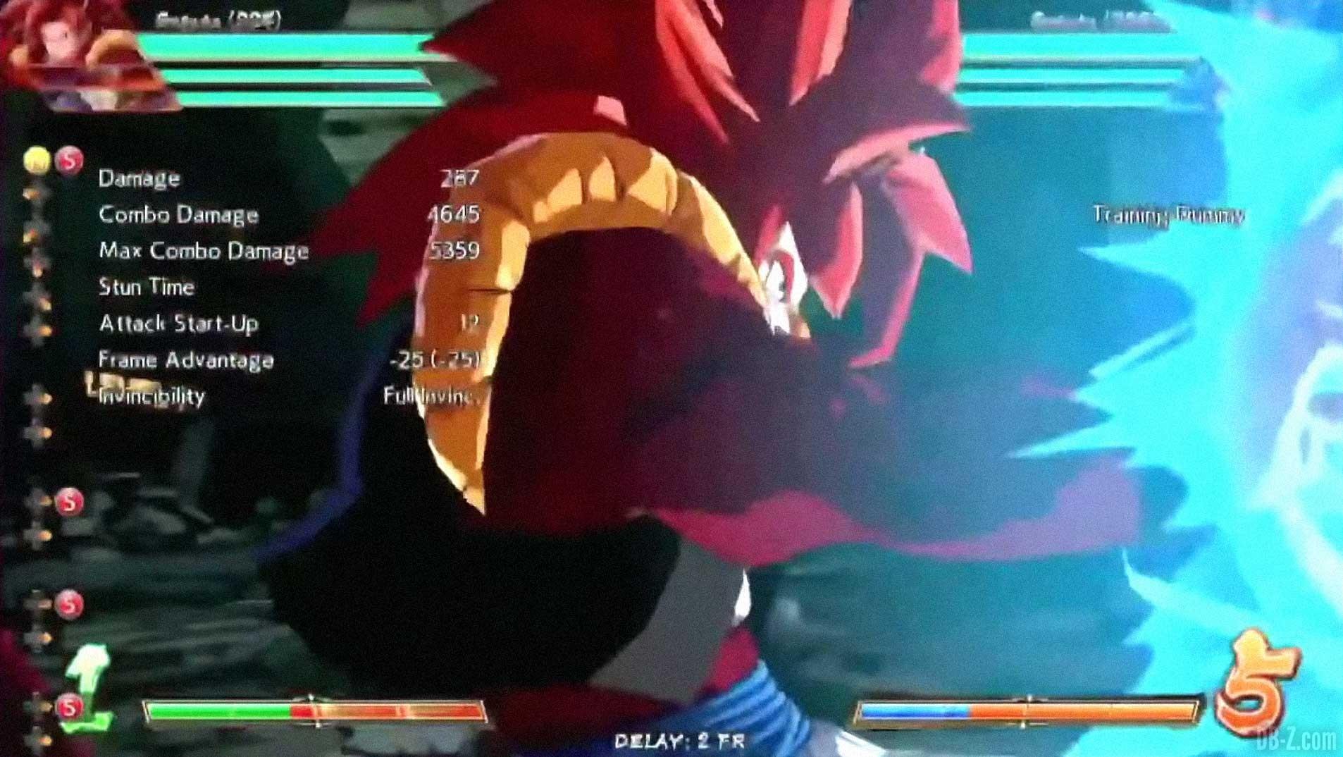 Dragon Ball FighterZ : 30 MINUTES de gameplay de Gogeta Super Saiyan 4 - DB-Z.com