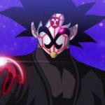 Goku Black masqué et Dark Dragon Ball (SDBH)