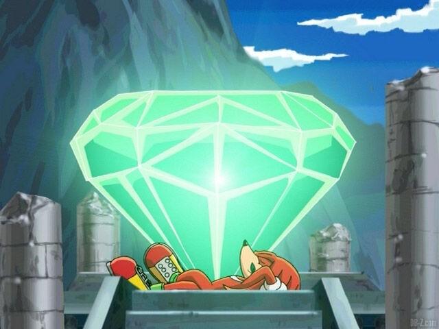 Knuckles-et-la-Master-Emerald