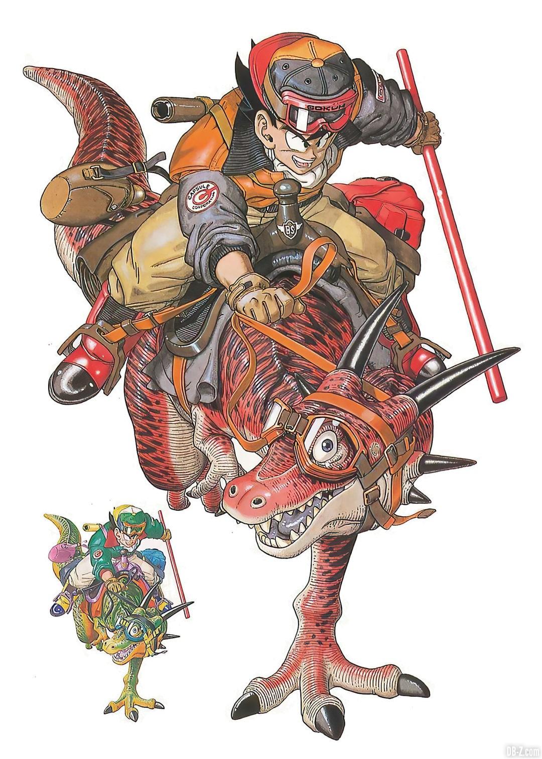 Goku-et-son-dinosaure-Akira-Toriyama-The-World-1