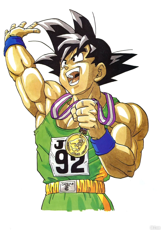 Goku-Jeux-Olympiques-Dragon-Ball