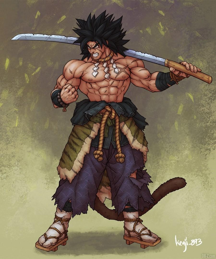 Broly Samourai