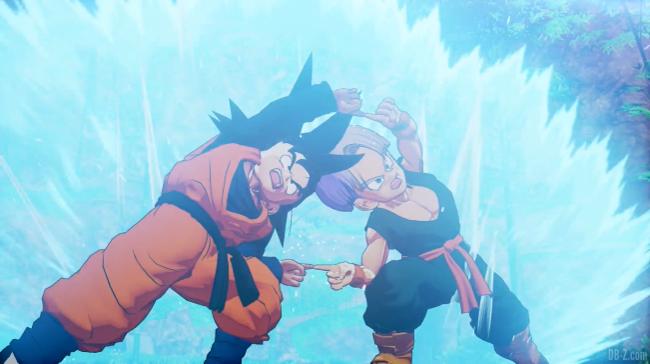 Fusion in game Dragon Ball Z Kakarot