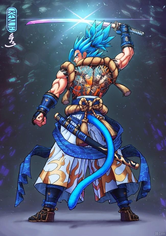 Gogeta Blue Samourai