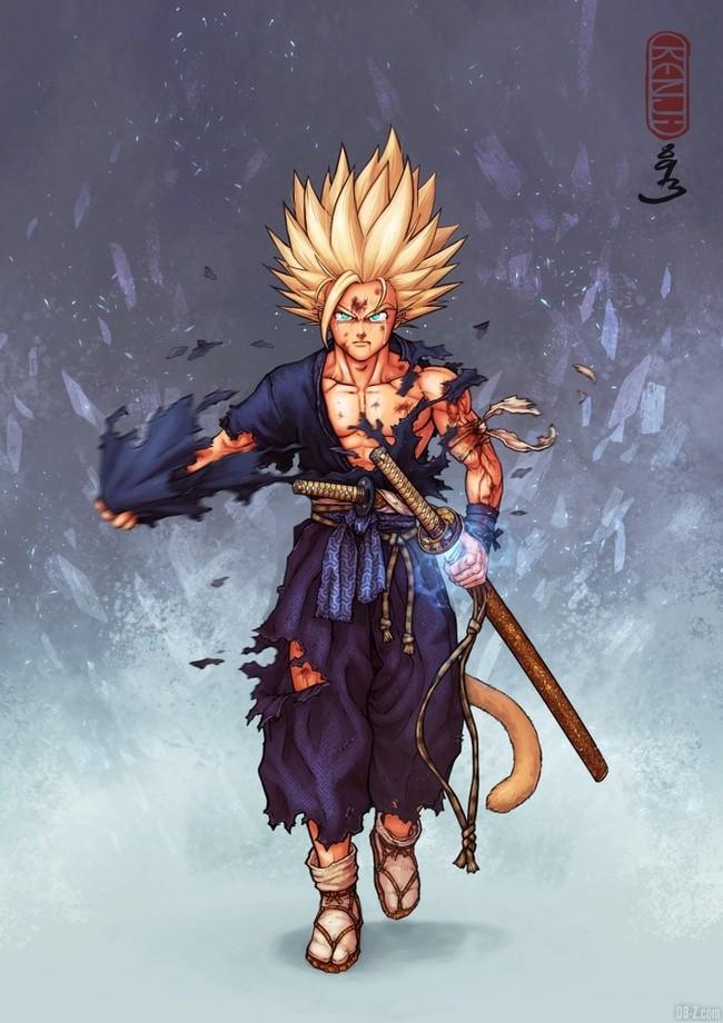 Gohan Super Saiyan 2 Samourai