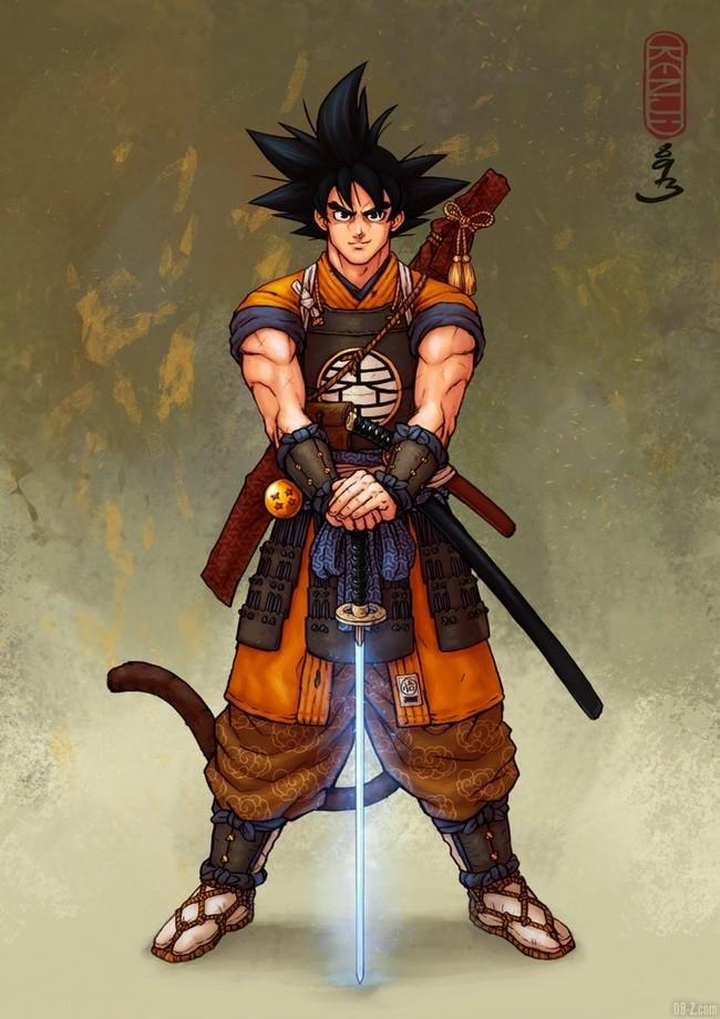 Goku Samourai