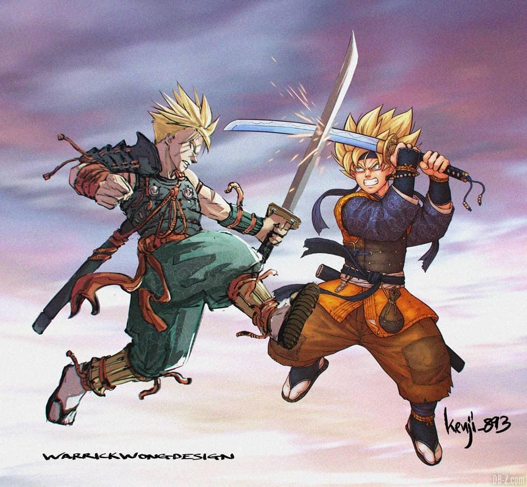 Goten Trunks Samourai