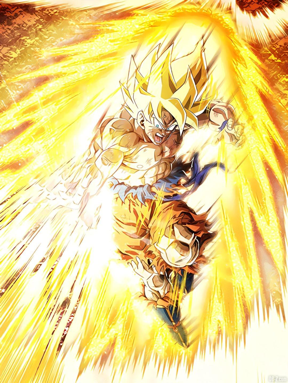 LR Goku Super Saiyan 350 millions apres eveil