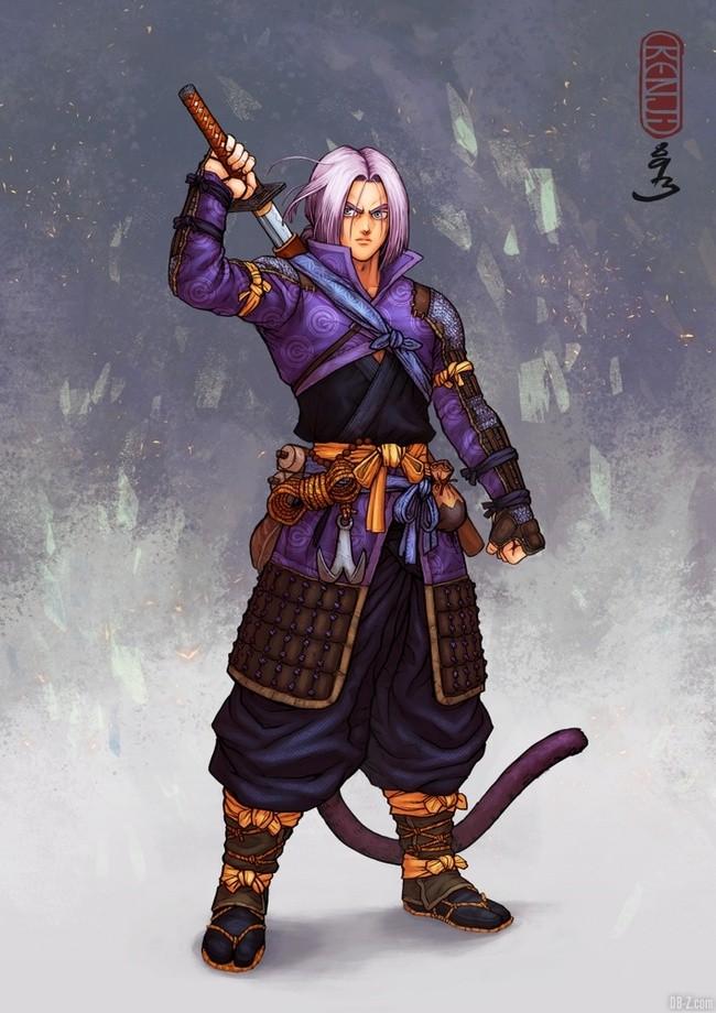 Trunks Samourai