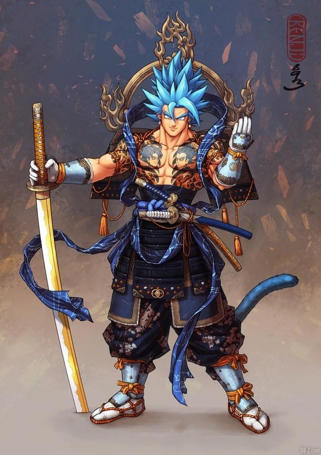 Vegetto Blue Samourai