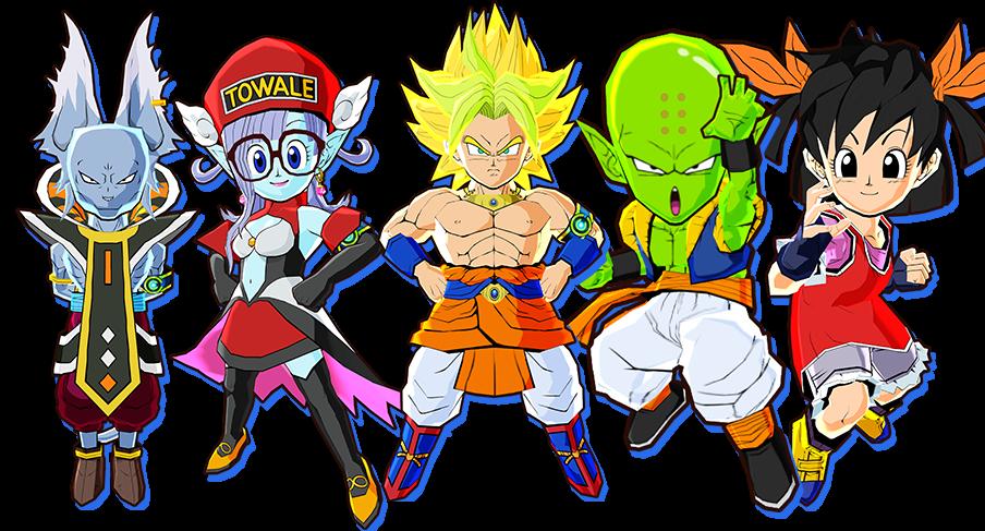 Ex-Fusions Dragon Ball Fusions