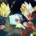 Bardock en capuche et Goku Super Saiyan