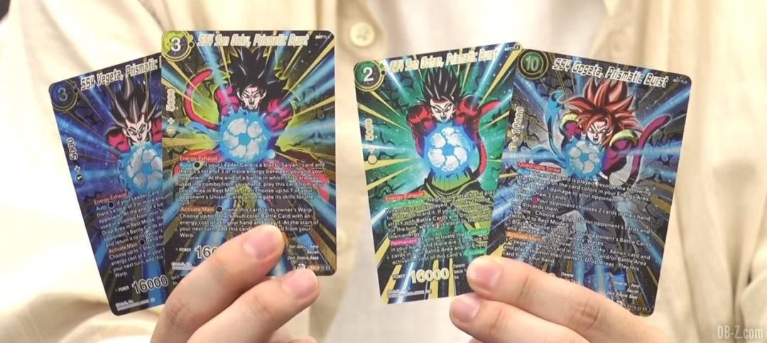 Cartes SS4 DBSCG