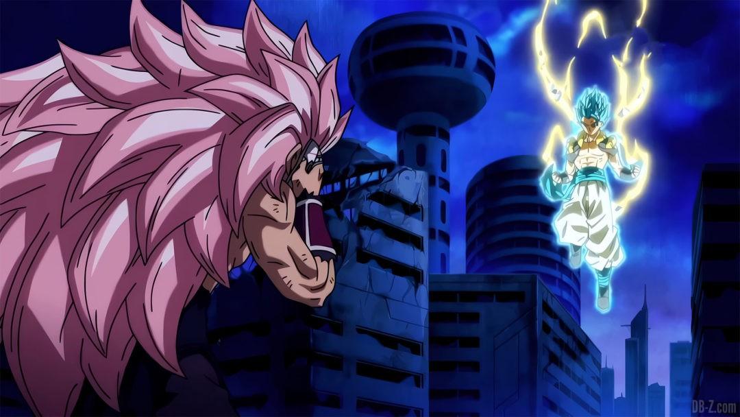 Gogeta explose Black Goku