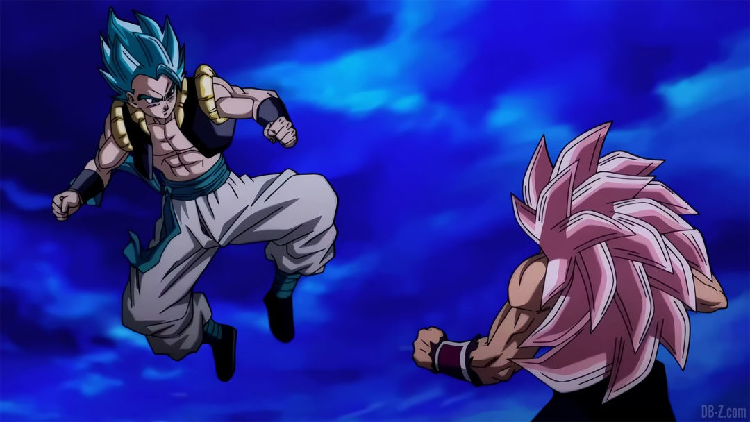 Gogeta vs Goku Black