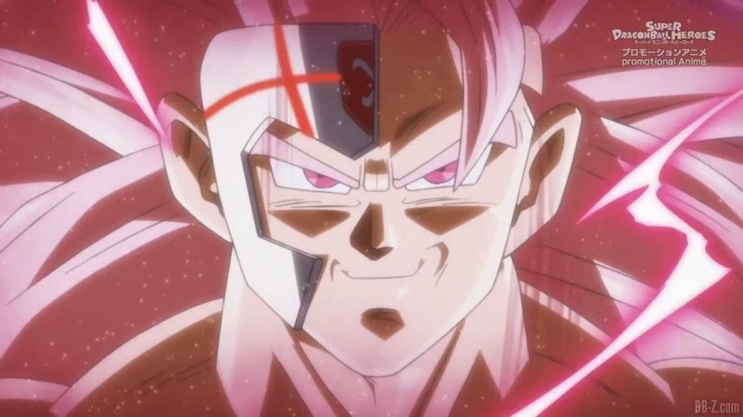Goku Black Super Saiyan 3 evolue