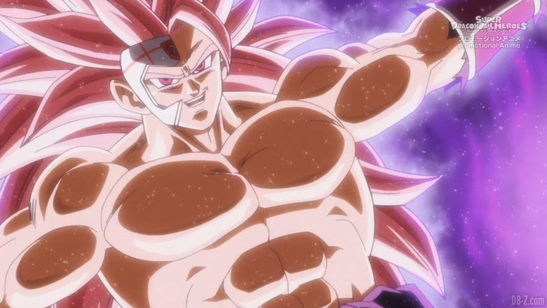 Goku Black Super Saiyan 3.5