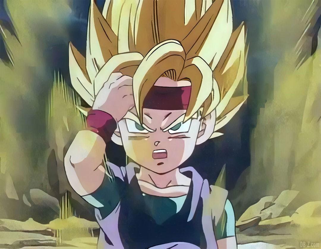 Goku Jr Super Saiyan