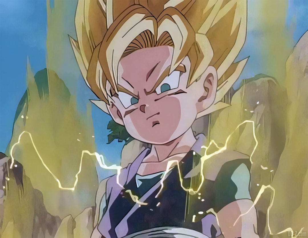 Goku Jr Super Saiyan 2