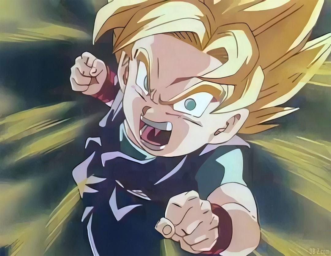 Goku Jr Super Saiyan 4