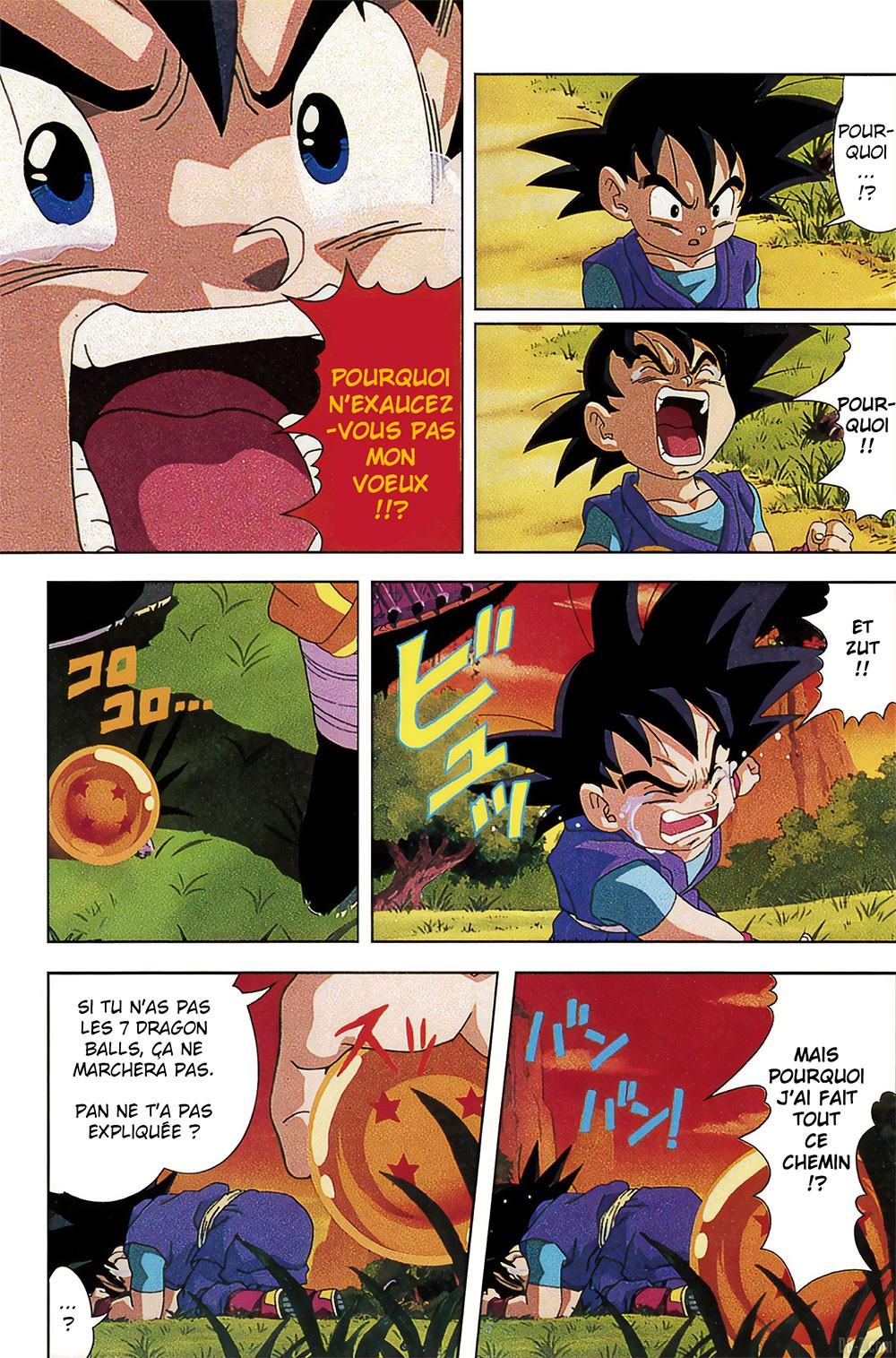 Goku Jr rencontre Goku Page 1