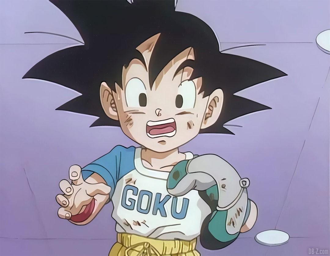 Goku Junior joue