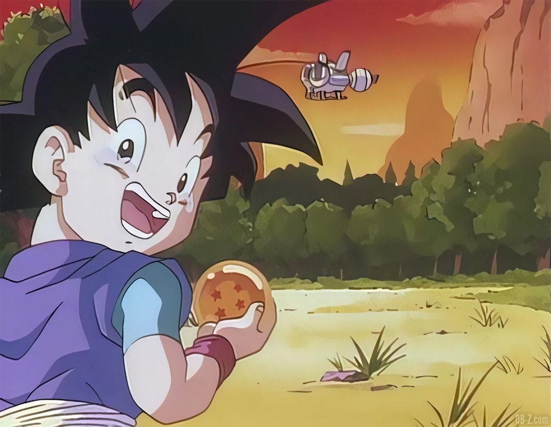 Goku Junior pleure 7