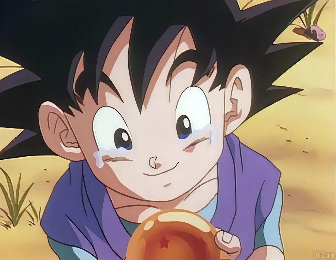 Goku Junior pleure 8