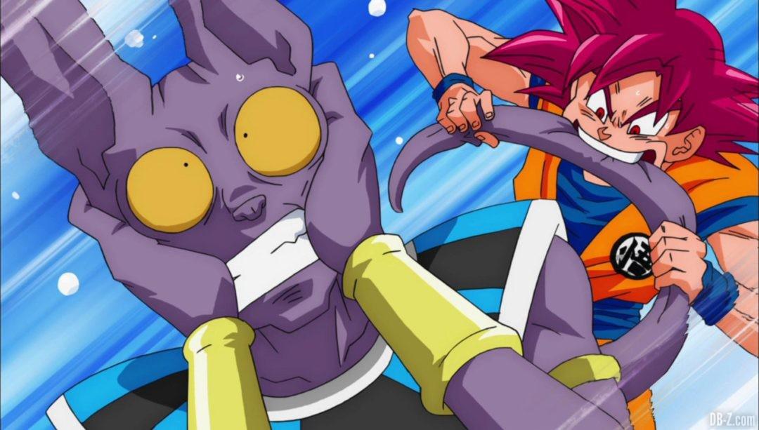 Goku mord Beerus