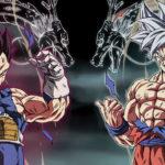 Goku ultra instinct vs vegeta ultra ego