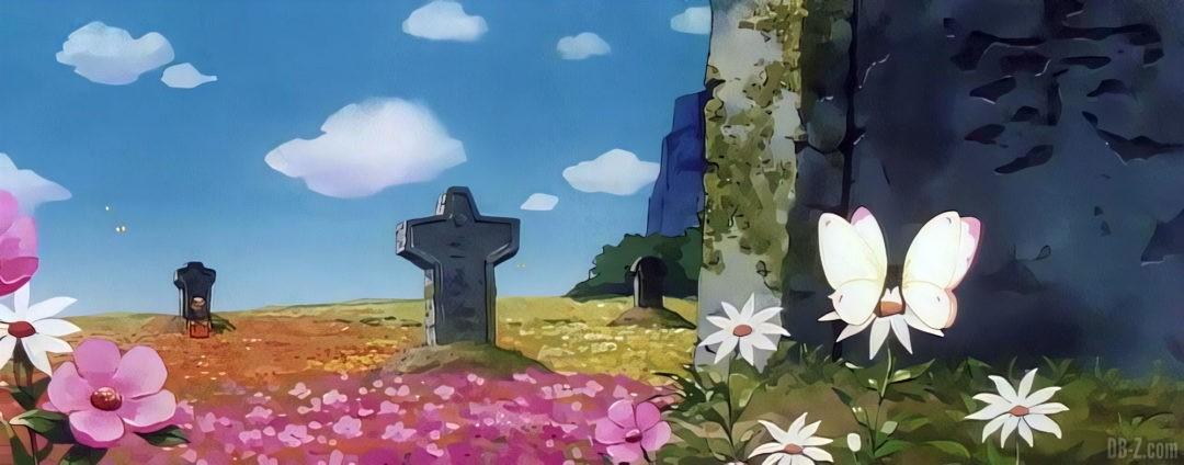 Le cimetiere de Goku