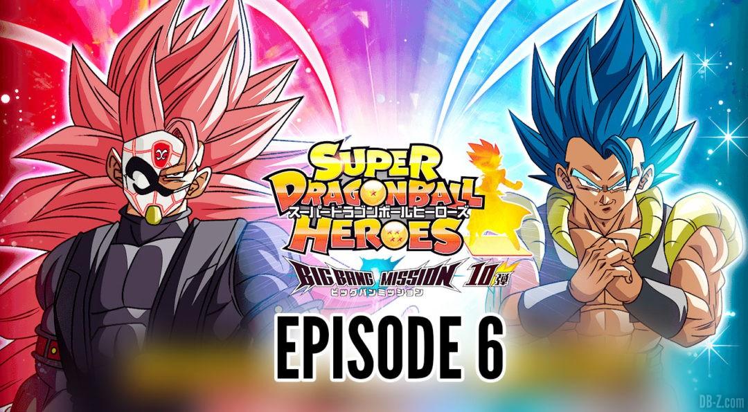 Super Dragon Ball Heroes Big Bang Mission Episode 6
