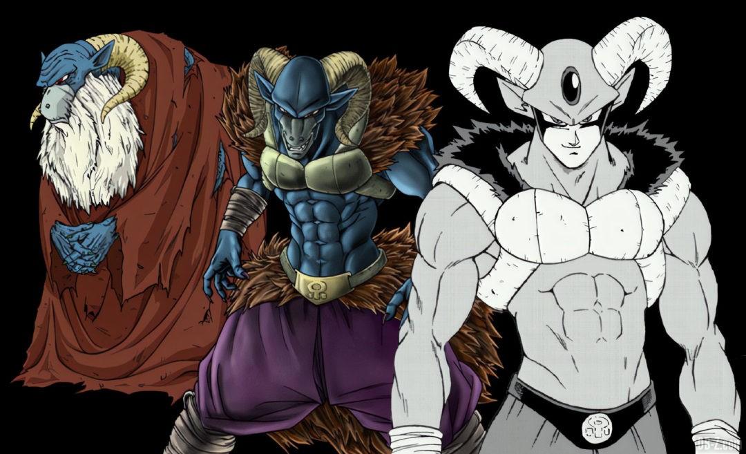 Toutes les apparences de Moro Dragon Ball Super