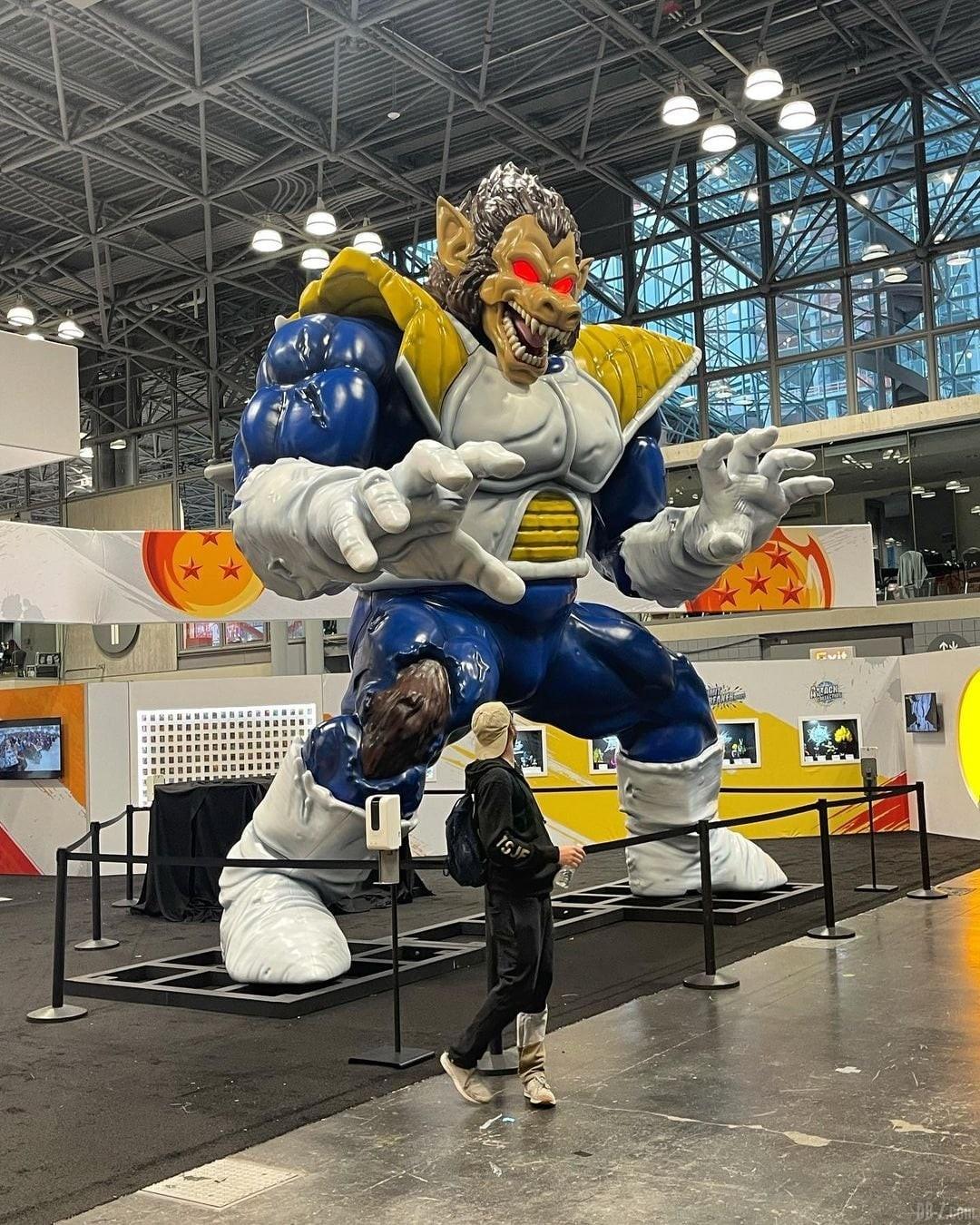 Dragon Ball Booth NYCC 2021 image 2