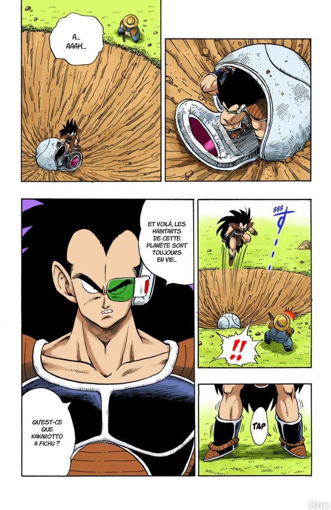 Dragon Ball Full Color Volume 17 Chapter 195 Page 05