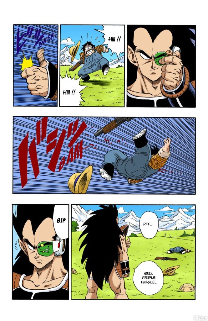 Dragon Ball Full Color Volume 17 Chapter 195 Page 07