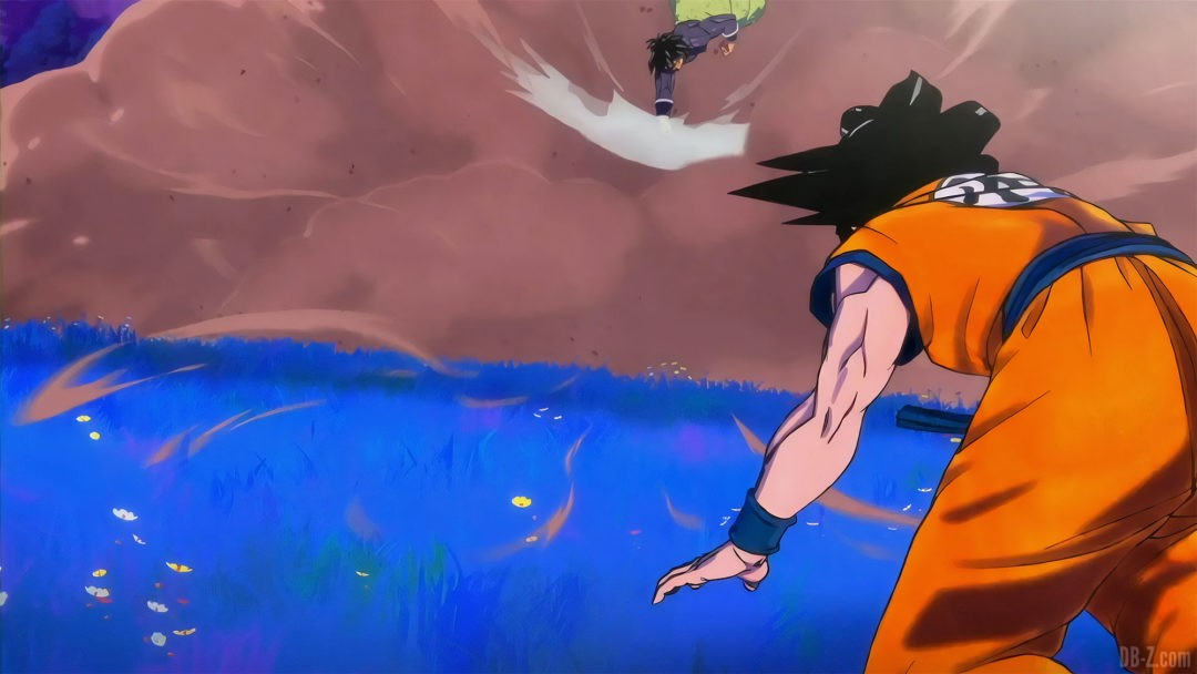 Goku vs broly DBS Super Hero