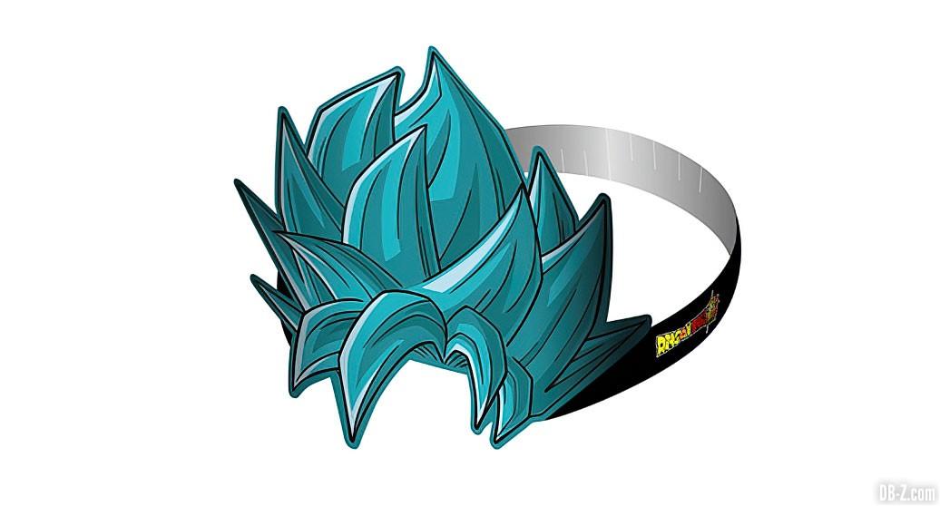 Perruque Goku SSGSS