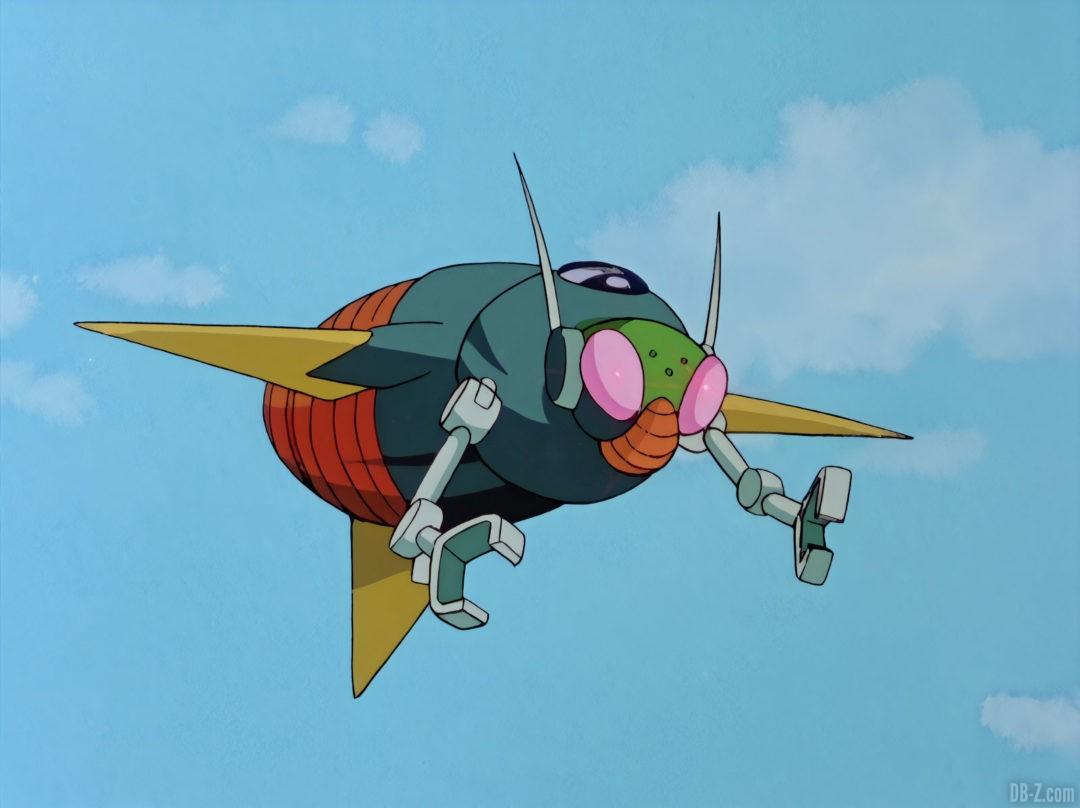 Robot Espion Dr Gero Ruban Rouge