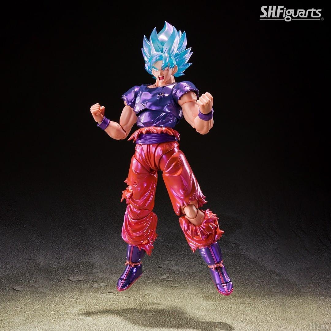 SHFiguarts Goku SSGSS Kaioken image 0002
