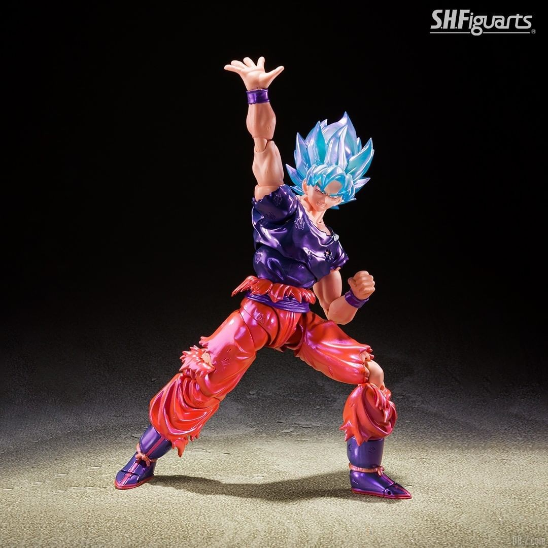 SHFiguarts Goku SSGSS Kaioken image 0003