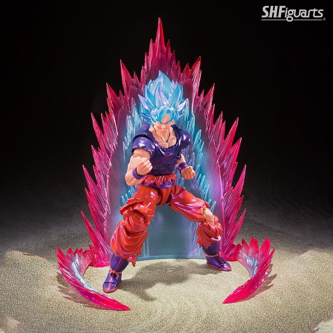 SHFiguarts Goku SSGSS Kaioken image 0004