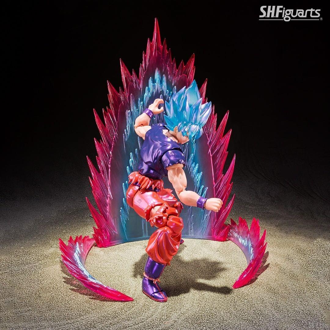 SHFiguarts Goku SSGSS Kaioken image 0005
