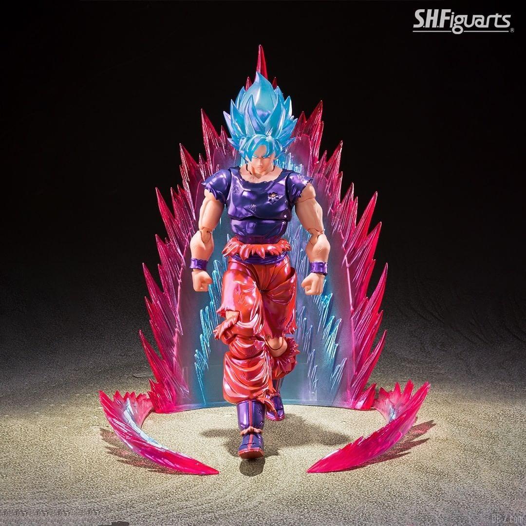 SHFiguarts Goku SSGSS Kaioken image 0006