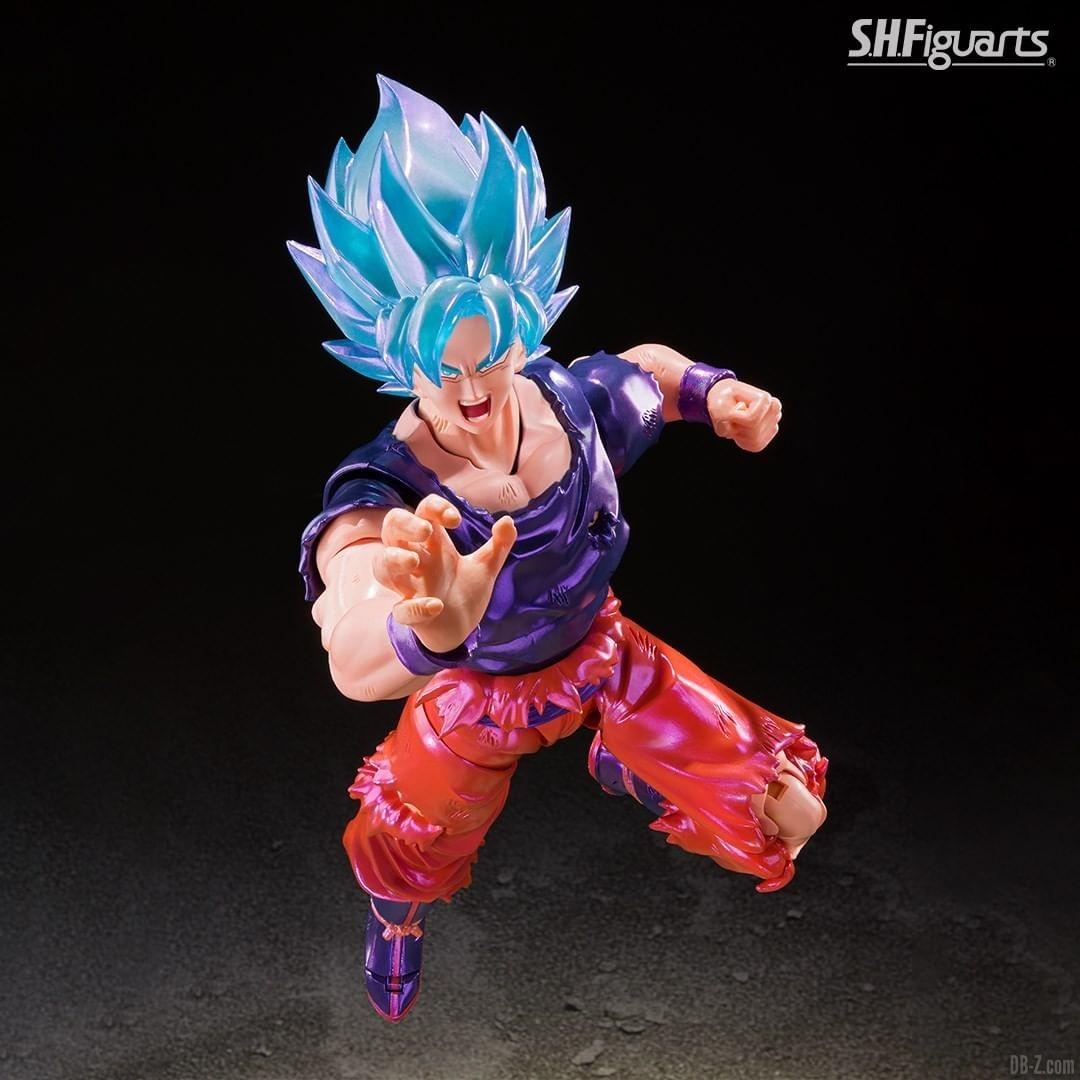 SHFiguarts Goku SSGSS Kaioken