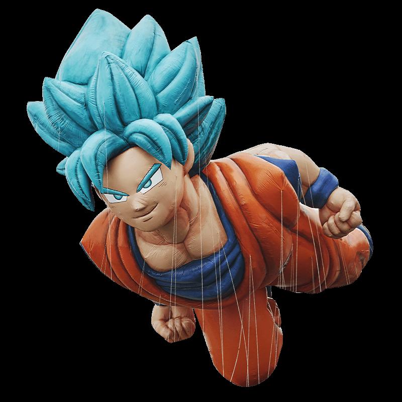 ballon geant de Goku Thanksgiving